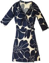 Max Mara Navy Silk Dress