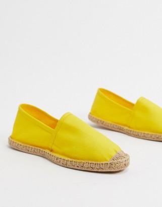 Rule London austin espadrille in yellow