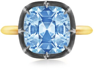 Fred Leighton Collet Cushion Ring