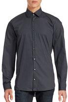 Strellson Printed Cotton Slim-Fit Shirt