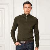 Ralph Lauren Purple Label Moto Merino Wool–Blend Sweater