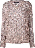 Roberto Collina knitted top - women - Linen/Flax/Cotton/Viscose/Polyamide - M