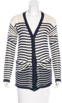Jean Paul Gaultier Striped Knit Cardigan