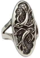 Femme Metale Jewelry Love Birds Ring