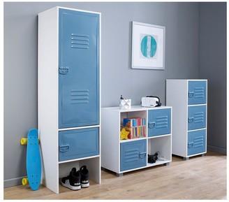 Lloyd Pascal Edison 2 Door Wardrobe -Blue
