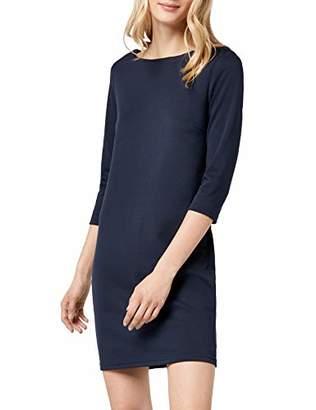 Vila CLOTHES Women's VITINNY NEW DRESS Knee-Length Plain Pencil Long Sleeve Dress,L (Manufacturer Size: L)