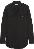 Etoile Isabel Marant Cheyne linen-blend shirt