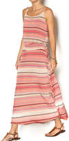 Tribal Rose Maxi Dress