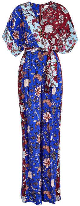 Diane von Furstenberg Kimono Wrap Jumpsuit