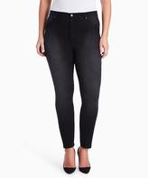 Gloria Vanderbilt Black Skinny Jeans - Plus