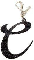 Edie Parker Alphabet C Bag Charm, Starlight Silver