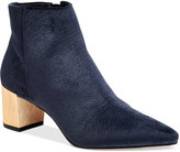 Calvin Klein Women's Narla Velvet Pointed-Toe Booties