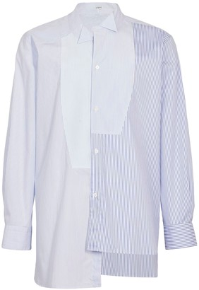 Loewe Patchwork Asymmetric Shirt