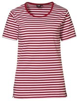 ID Womens/Ladies Pro Wear Striped Regular Fitting Short Sleeve T-Shirt (XL)