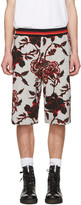 McQ by Alexander McQueen Grey Floral Clean Shorts