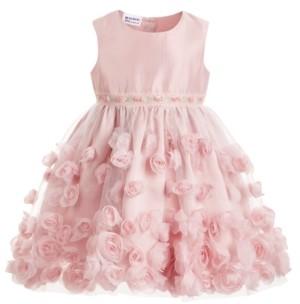 Blueberi Boulevard Toddler Girls Soutache Dress