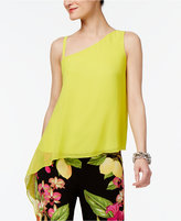 INC International Concepts Popsicle® One-Shoulder Top, Only at Macy's