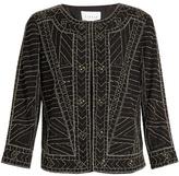 Velvet by Graham & Spencer Magali embellished jacket