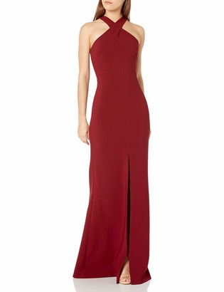 LIKELY Women's Kingsbury Cross Halter Gown