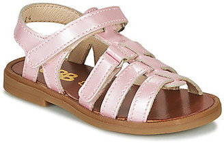 GBB KATAGAMI girls's Sandals in Pink