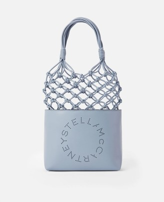 Stella McCartney Logo Knotted Bag, Women's