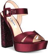 Nina Savita Evening Platform Evening Sandals Women's Shoes