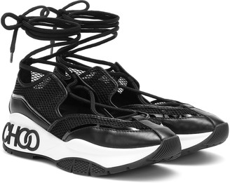 Jimmy Choo Michigan mesh sneakers