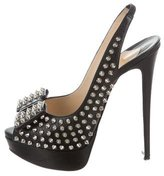Christian Louboutin Clou Noeud Spiked Pumps