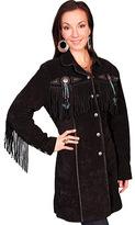 Scully Women's 3/4 Length Boar Suede Coat L615