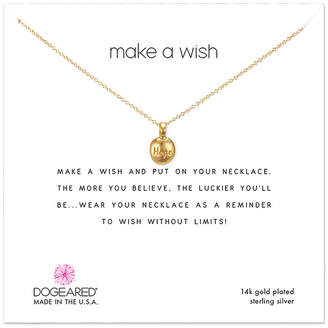 Dogeared 14K Over Silver Necklace