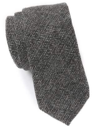 Original Penguin Decker Herringbone Tie