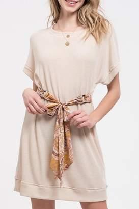 Blu Pepper Paisley Belt Dress