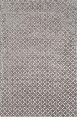 Tudor Union Rustic Medium Gray Area Rug Union Rustic Rug Size: Rectangle 2' x 3'