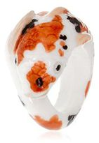 Nach Koi Fish Porcelain Ring