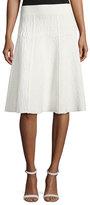 A.L.C. Amya Textured A-Line Skirt