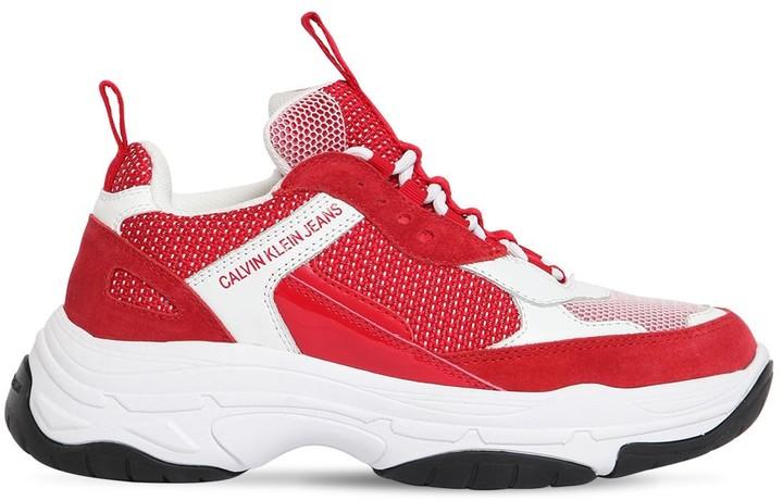 Calvin Klein Red Women's Sneakers on