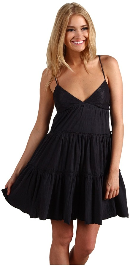 Billabong Prohibition Tiered Dress