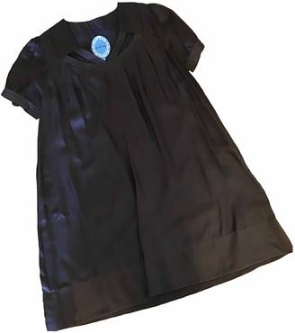 April May Brown Silk Dress for Women