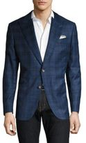 Robert Graham Stalas Plaid Regular-Fit Wool Jacket