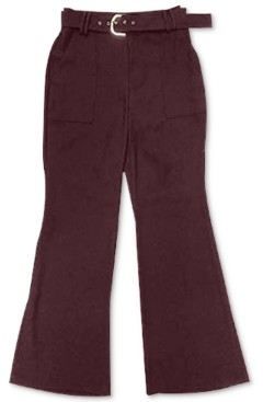 INC International Concepts Inc Belted Wide-Leg Pants, Created for Macy's