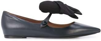 Tabitha Simmons Evangeline bow-detail ballerina shoes