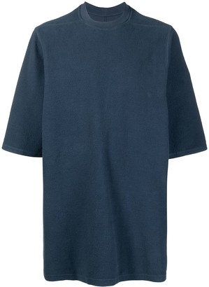 Rick Owens Jumbo textured T-shirt