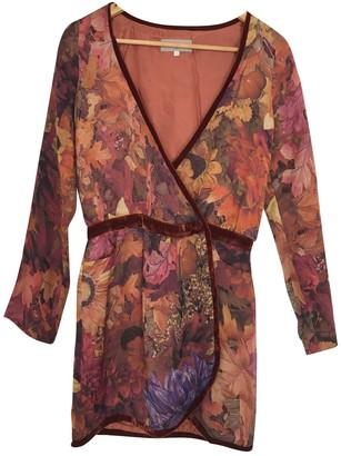 Heimstone Orange Viscose Dresses