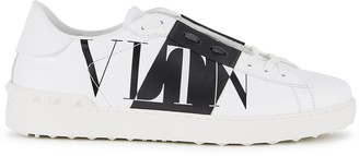 Valentino VLTN Open white leather sneakers