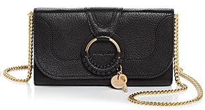 See by Chloe Hana Leather Chain Wallet