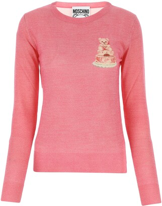 Moschino Teddy Crew Neck Sweater