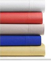 Bar III Twin Sheet Set Grey 220 Thread Count Cotton