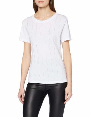 GUESS Women's Ss Cn Krystal Tee T-Shirt