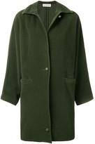 Versace Pre Owned 1980's straight midi coat