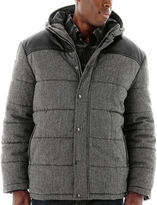 JCPenney Excelled Leather Excelled Channel Quilt Hoodie